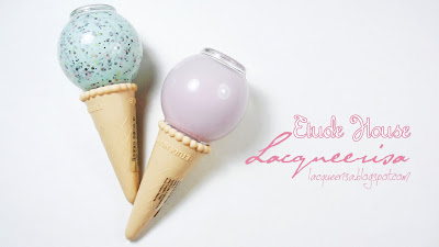 Etude House Sweet Recipe Ice Cream Nails