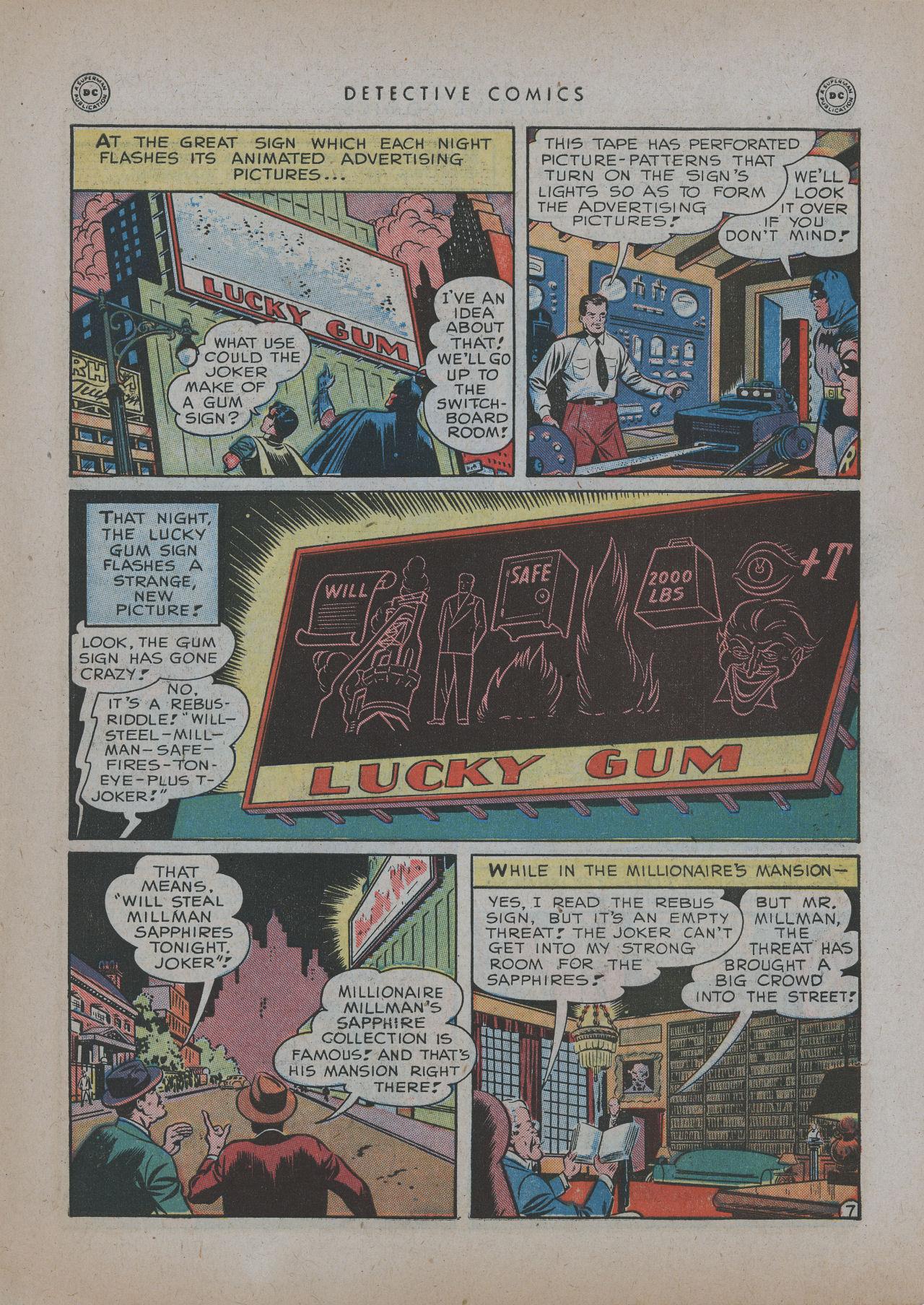 Read online Detective Comics (1937) comic -  Issue #137 - 9
