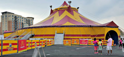 The big top at UniverSoul Circus