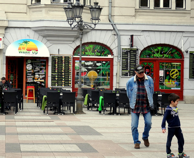 Novi Sad Outdoor Cafes