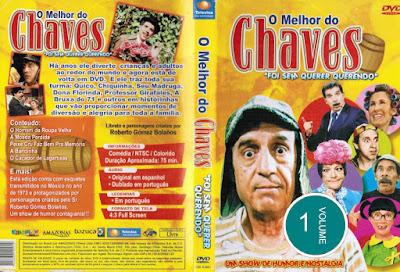 Série O Melhor do Chaves Volume 1 DVD Capa