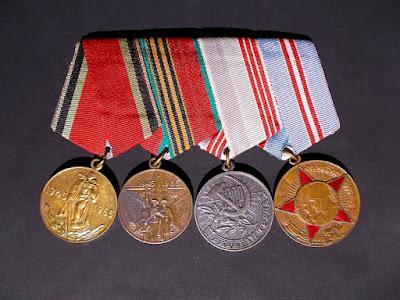 Medaglie dell'Unione Sovietica - collezionismo - militaria - annunci
