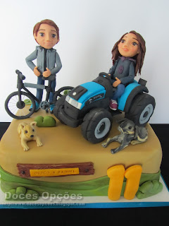 bolo cake design bragança