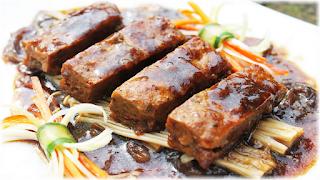 Tempeh Abalone Sauce
