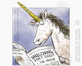 Proof on Unicorn Very Funny Humor Cartoon Jokes