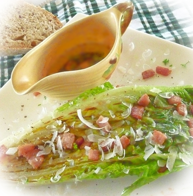 grilled-lettuce-salad