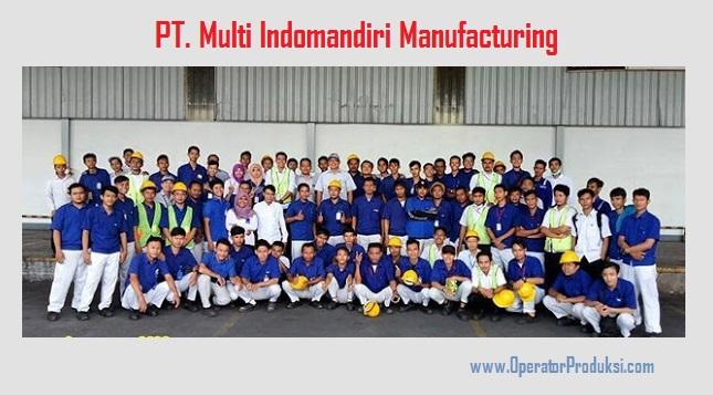 Lowongan PT. Multi Indomandiri | Operator Produksi