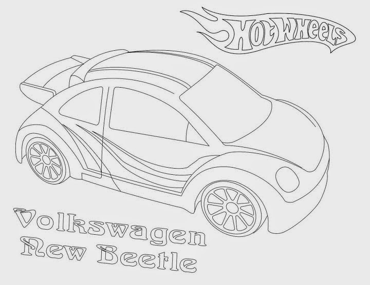 Hot Wheels Coloring Pages 58