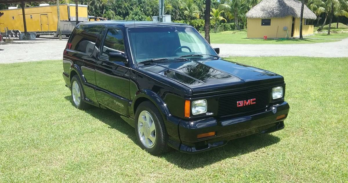 1992 Gmc Typhoon Turbo Charged 90s Rocket