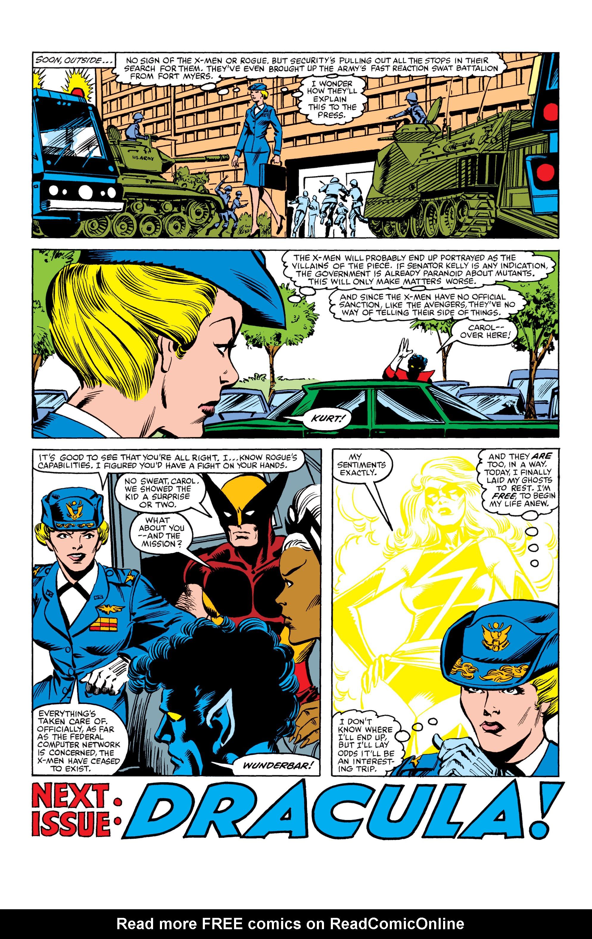 Read online Uncanny X-Men (1963) comic -  Issue #158 - 23