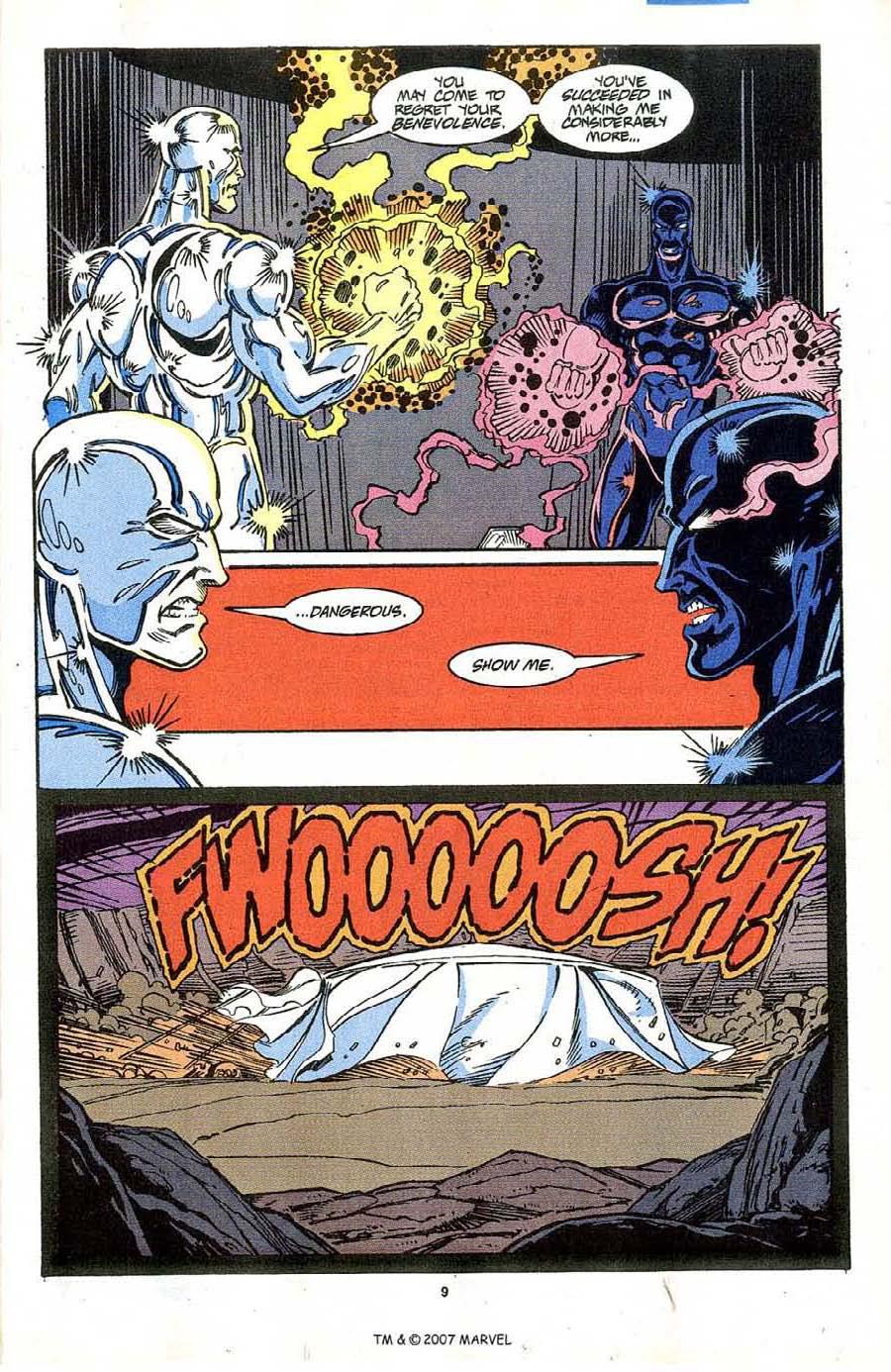 Read online Silver Surfer (1987) comic -  Issue #64 - 11