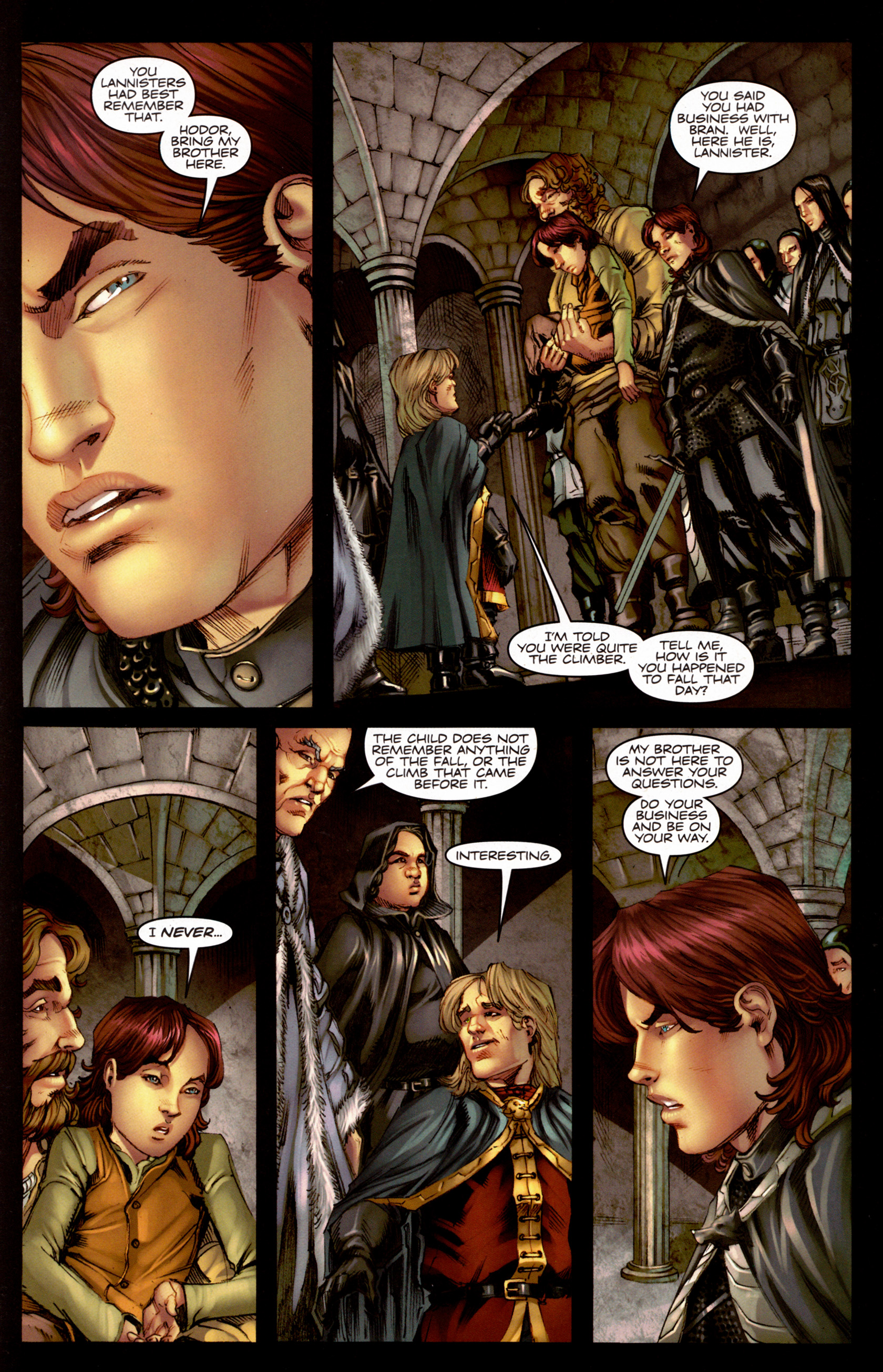 Read online A Game Of Thrones comic -  Issue #7 - 26
