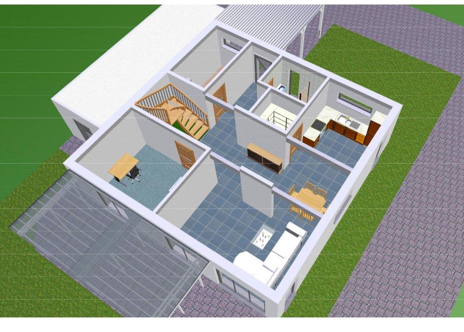 bauen mit danwood park 169w mai 2012. Black Bedroom Furniture Sets. Home Design Ideas