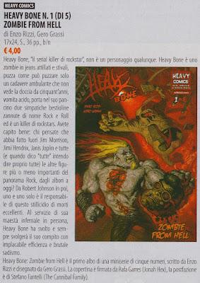 Heavy Bone #1 - Zombie from Hell