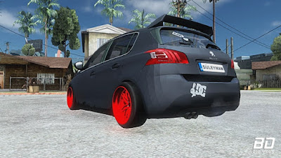 Download mod carro Peugeot 308 STANCE NATION para GTA San Andreas , jogo GTA SA para PC