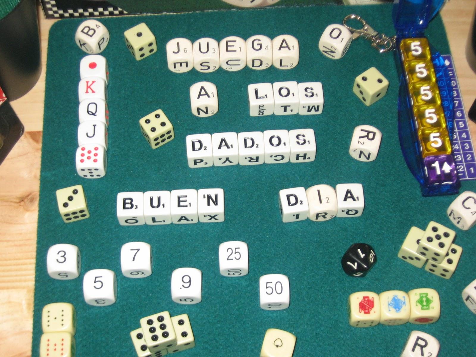 Juegos De Mesa Que Son Dados Fichas Y Baraja