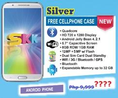 SKK Mobile Silver