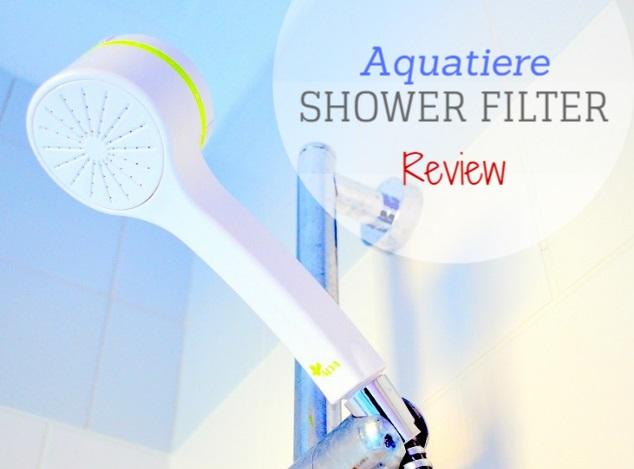 Aquatiere Shower Filter Review