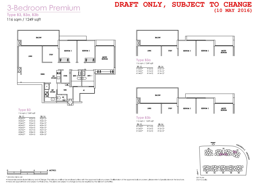 treasure crest ec floor plans