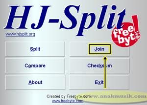 Cara Menggabungkan Video MP4 Dengan HJ Split