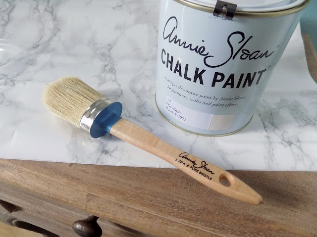 Annie Sloan old white paint