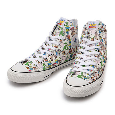 87d468c99df9 TOY STORY X CONVERSE THREE-SHOE COLLECTION - FASHION GAME