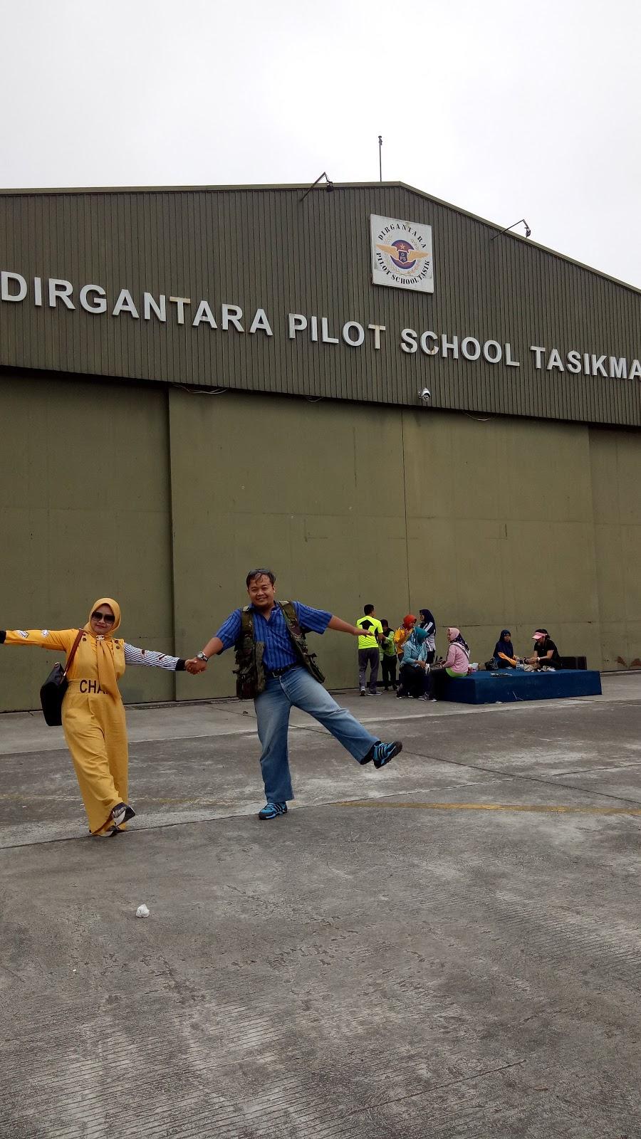 Main Ke Car Free day di Wiriadinata (atau Lanud Wiriadinata)