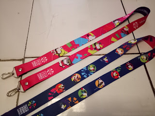 Tali lanyard digital printing asian para games