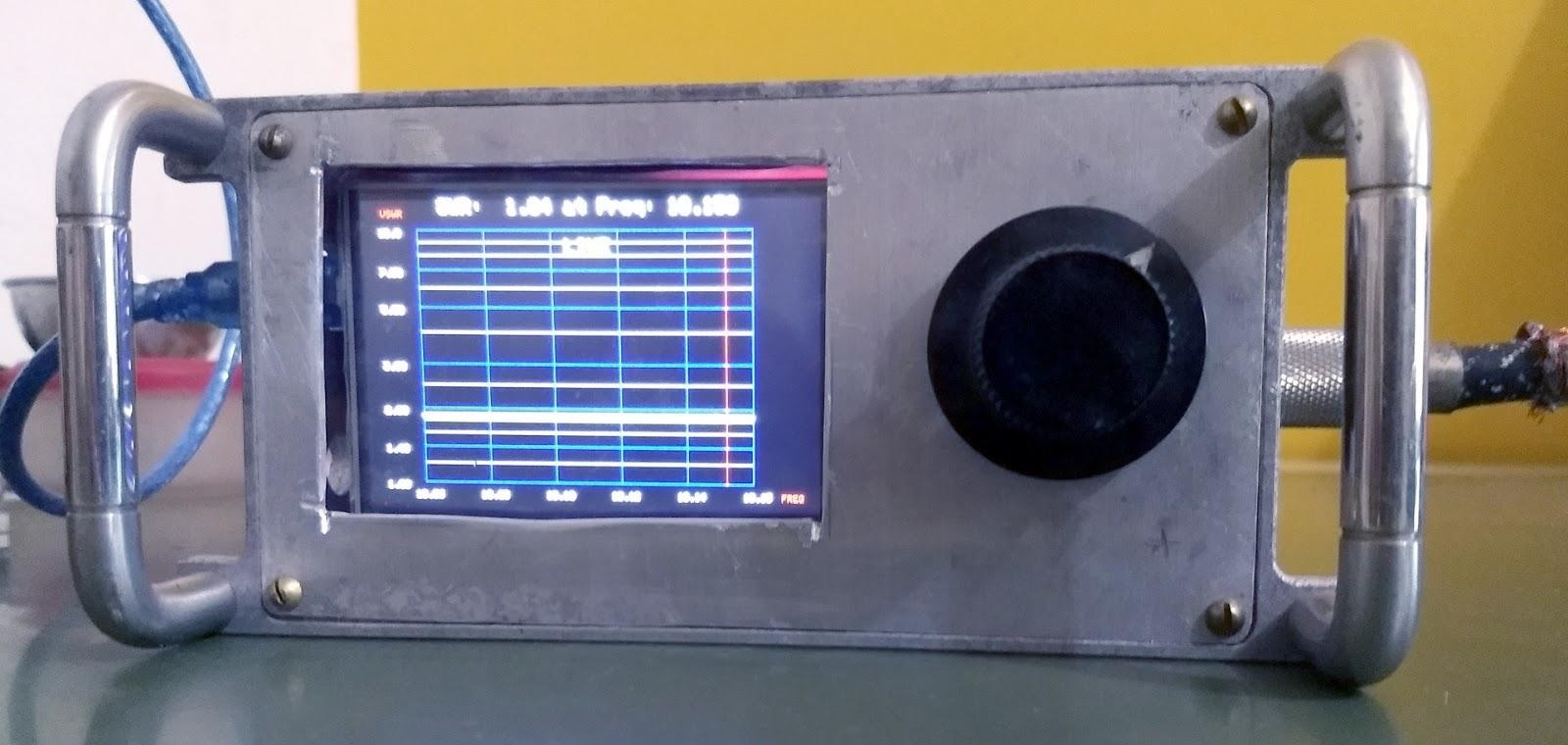 Antenna Analyzer (W8TEE/K2ZIA with mods by WA2FZW/VK3PE