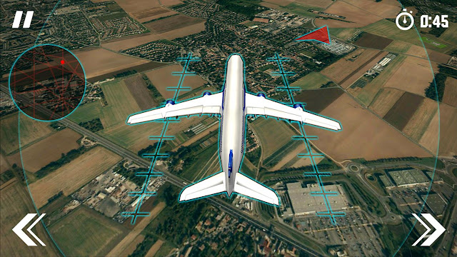 Cara landing dan Jalur Pesawat