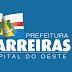 PREFEITURA DE BARREIRAS ANTECIPA PRIMEIRA PARCELA DO 13ª SALÁRIO.