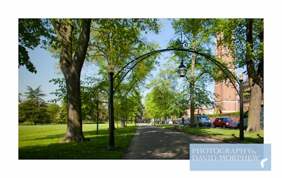 But is it art? Leamington's Linden Arches