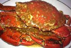 Resep praktis (mudah) seafood kepiting saus telur asin spesial (istimewa) enak, gurih, sedap, nikmat lezat
