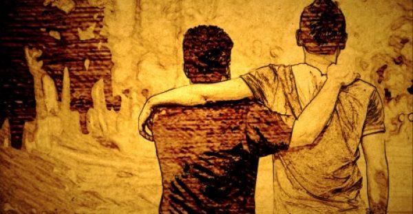 Οι ανδρικές φιλίες χτίζουν σχέσεις ζωής....Τα πολλά λόγια δεν χρειάζονται.