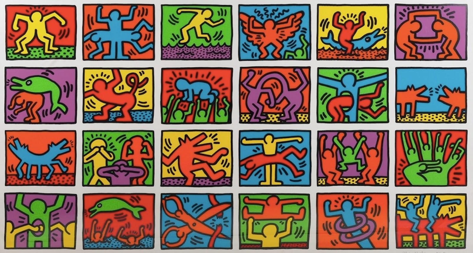 Artimus Prime 8th Gesture Drawing Semiotics And Keith Haring