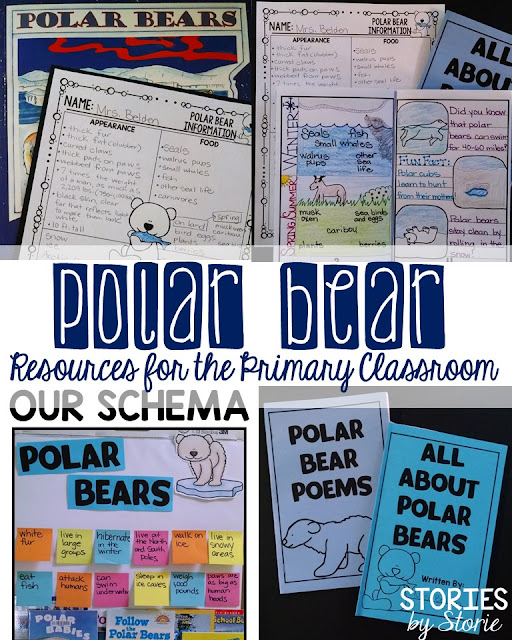 If you're gathering resources and activities for your polar bear unit, you've come to the right place! This free mini pack includes graphic organizers, polar bear poems, and a mini research book that your students can use to show what they have learned about polar bears.