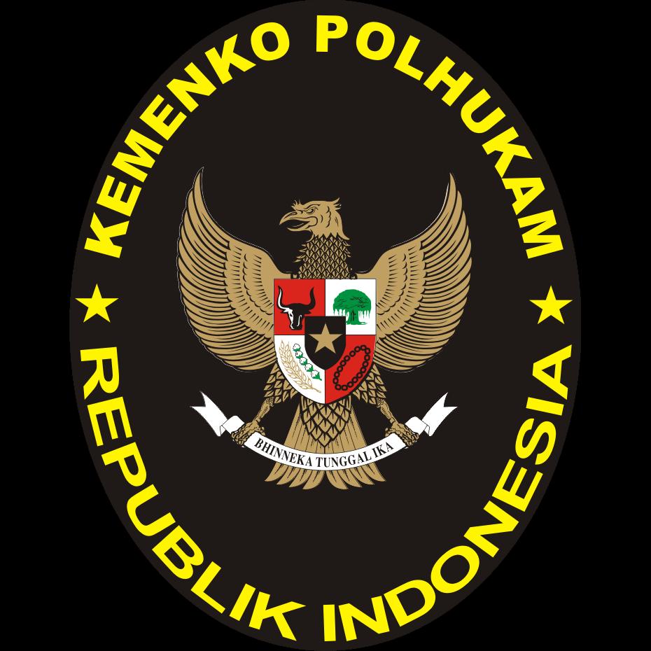 Logo Kementerian Koordinator Bidang Politik, Hukum, dan Keamanan Republik Indonesia