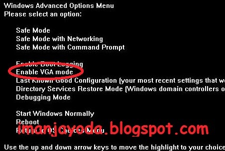 Cara Mudah Mengatasi Input Not Supported Pada PC ~ Iman Jayoda