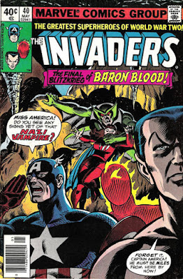 Invaders #40, Baron Blood
