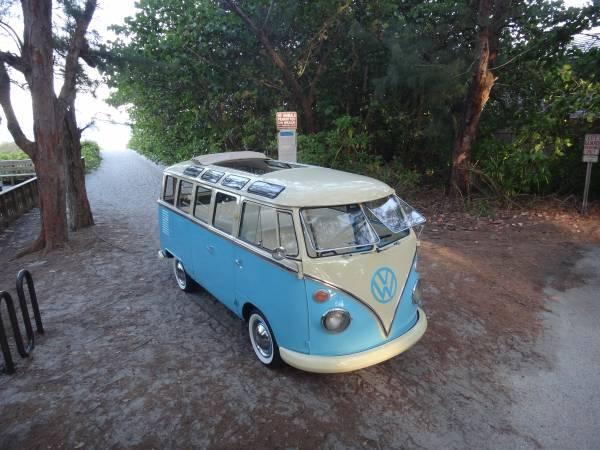 1975 VW 23 Window Brazilian Bus