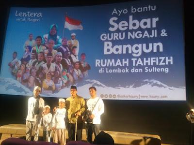 anak korban bencana alam di lombok