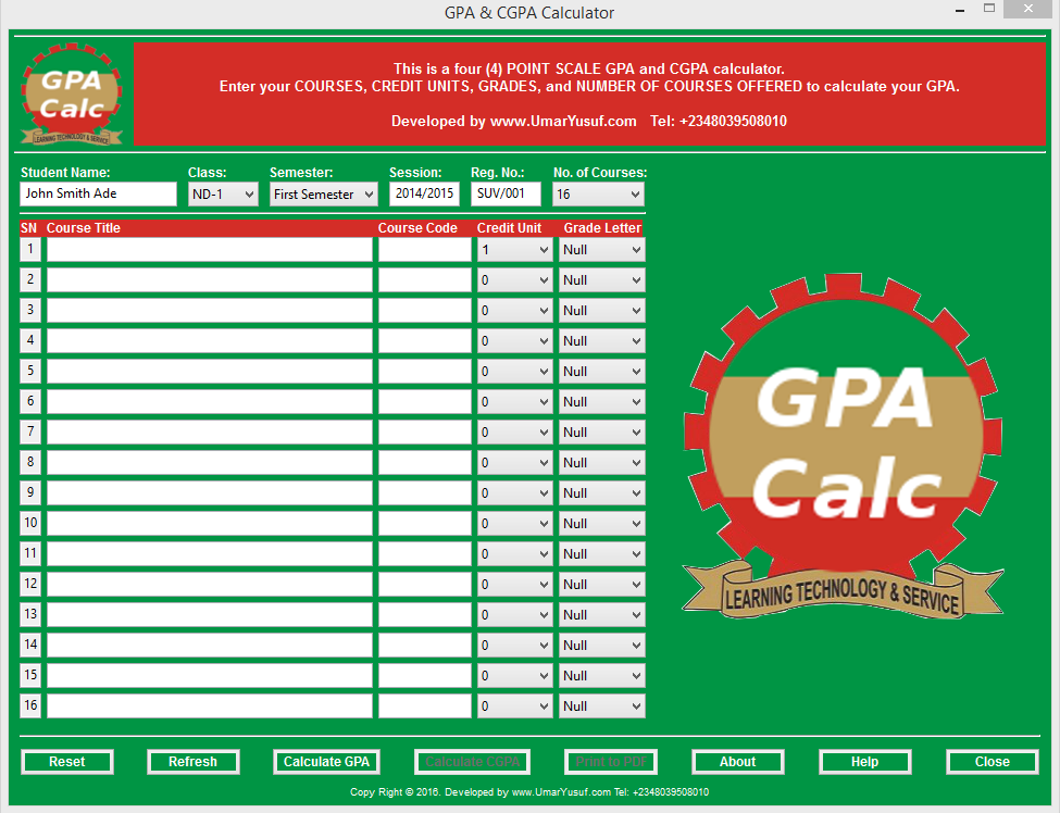 Geospatial solutions expert how to calculate gpa and cgpa main screen ccuart Image collections