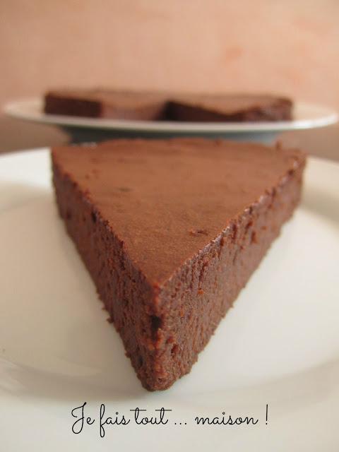 Gateau chocolat mascarpone de Cyril Lignac
