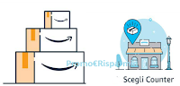 Logo Amazon Counter: punti di ritiro sempre più vicini a te