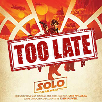 Solo: A Star Wars Story too late for oscars