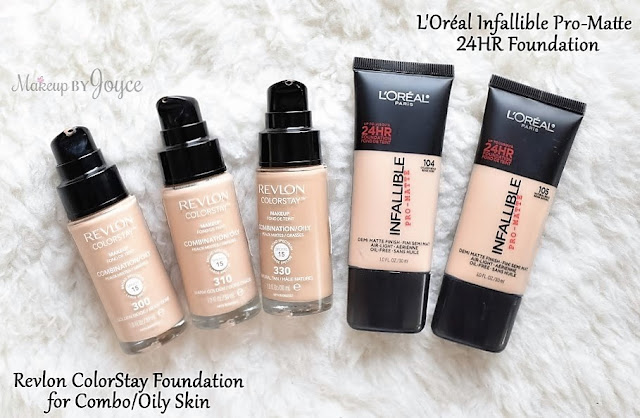 Revlon ColorStay Foundation Combination Oily Skin 300 310 330 Pump Review