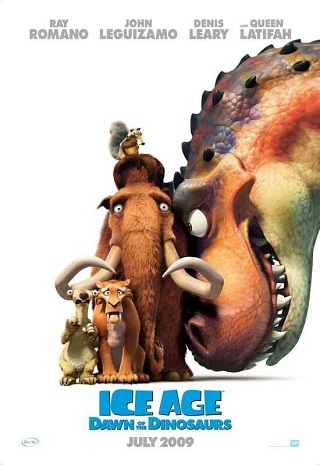 Ice Age Dawn of the Dinosaurs 2009 Dual Audio Hindi 300MB BluRay ESubs 480p