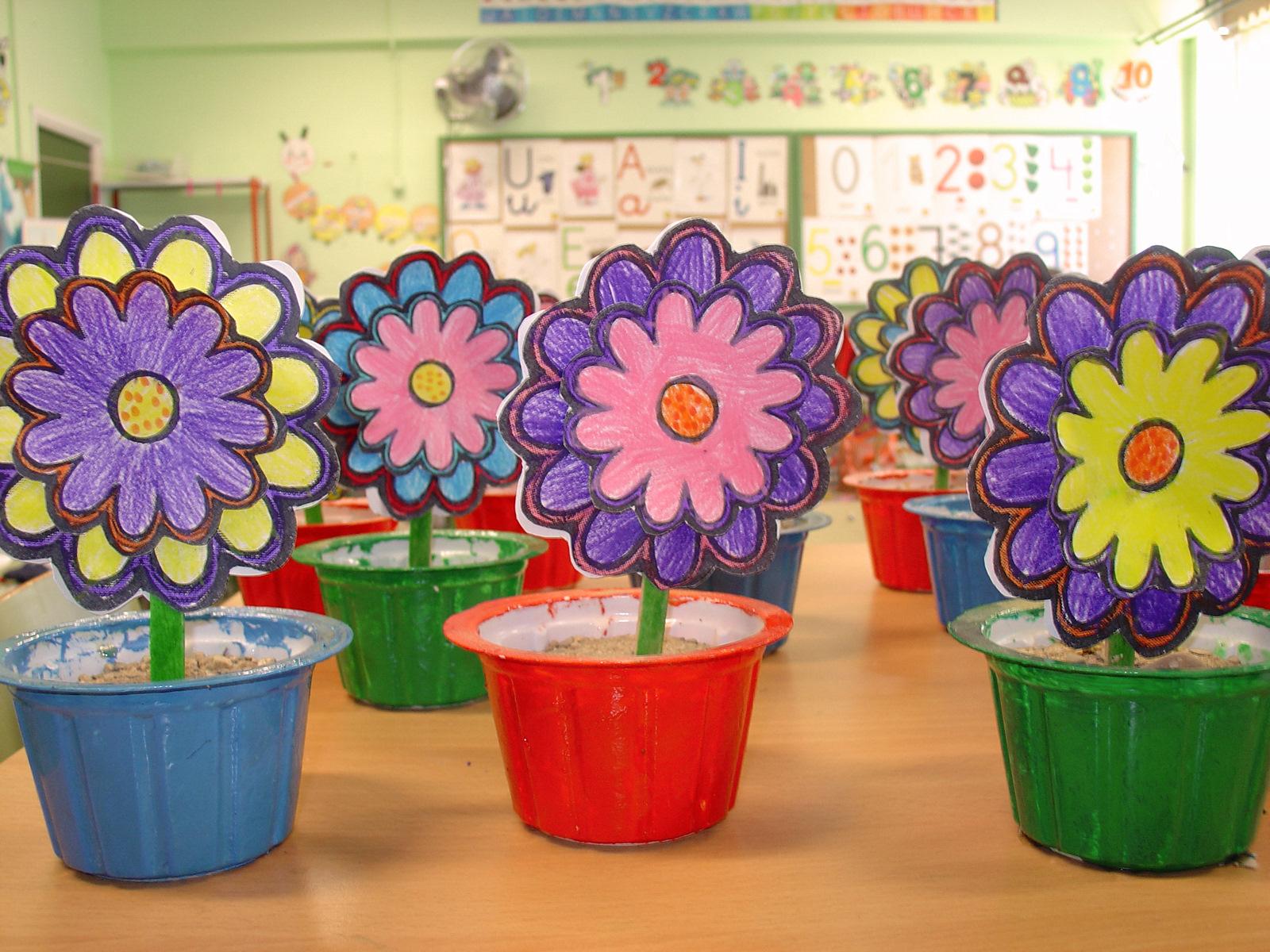 Ideas para primavera blog atendiendo necesidades - Manualidades decoracion infantil ...