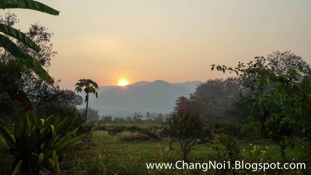 Sunrise at Thung Chang, Thailand