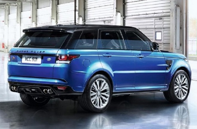 2015 Range Rover Sport SVR Rear